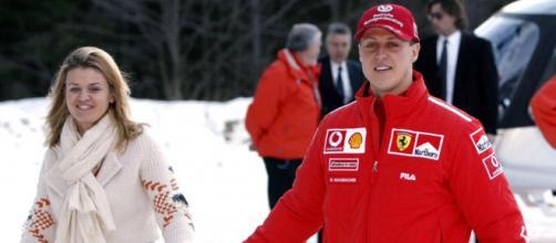 Esposa de Schumacher fala sobre o estado de saúde dele. (Arquivo Blasting News)