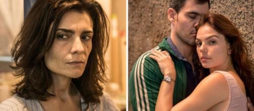 Leila tentará acabar com namoro de Magno e Betina. (Reprodução/Rede Globo)