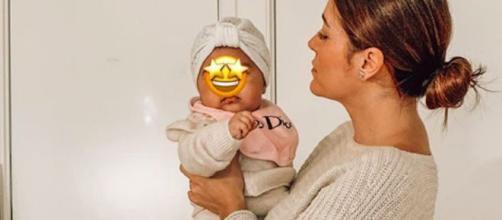 Anaïs Camizuli, explique qu'elle ne dévoilera pas la tête de son bébé. Credit: Instagram/ anaiscss7officiel
