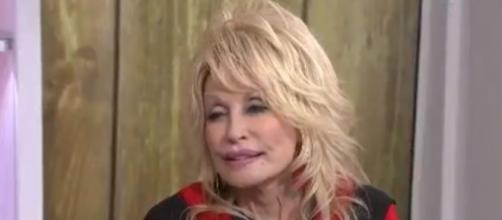 Holiday TV ratings and reflections of favorite songs and childhood memories give Dolly Parton reason to smile. [Image source:TODAY-YouTube]