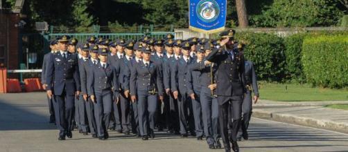 "Scuola militare aeronautica Douhet: ""Graduation Day""."