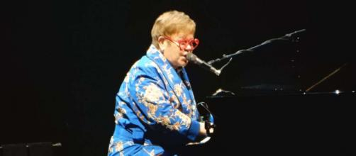 Elton John was one of more than 1000 celebrities to have their addresses revealed on the UK government website. [Source: slgckgc/Flickr]