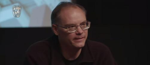Epic Games founder Tim Sweeney as he talked about VR, the game studio, and 'Fortnite.' [Image source: BAFTA Guru/YouTube]