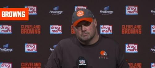 Freddie Kitchens' seat is scorching hot. [Source: Cleveland Browns/YouTube]