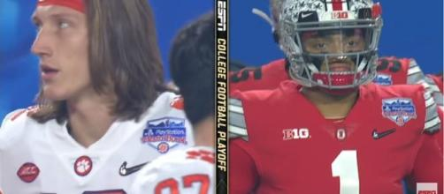 Ohio State Buckeyes members took children on a shopping spree. [Source: ESPN/YouTube]