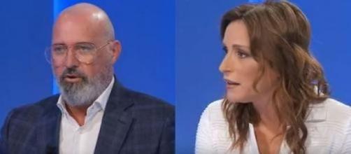 Stefano Bonaccini e Lucia Borgonzoni, sfidanti in Emilia Romagna.