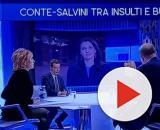 Otto e mezzo: Cuzzocrea e Floris convinti che il duello sul Mes lo abbia vinto Salvini su Conte