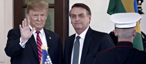 Bolsonaro afirmou que não considerou atitude de Trump como retaliação. (Arquivo Blasting News)