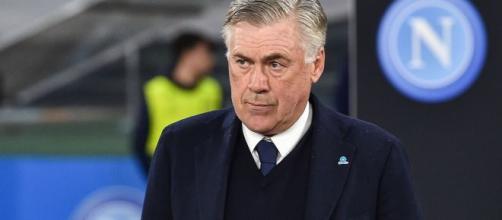Carlo Ancelotti allenatore del Napoli.