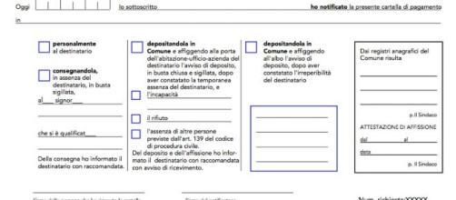Cartelle esattoriali, la notifica mediante documento informatico è legittima