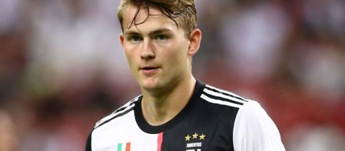 De Ligt, difensore della Juventus.