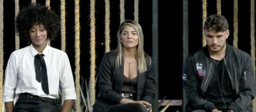 Hariany Almeida, Lucas Viana e Sabrina Paiva disputarão prova do fazendeiro em 'A Fazenda 11'. (Reprodução/RecordTV)
