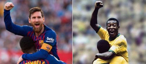 Messi recordman del Pallone d'Oro reale, ma Pelé è quello 'virtuale' secondo France Football