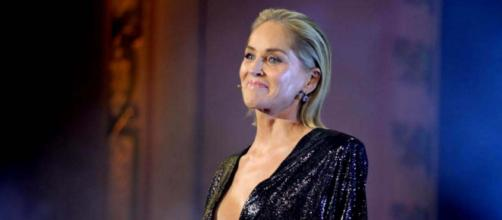 Actress Sharon Stone had her account deleted on Bumble [Image CBS NEWS @CBSNews/Twitter]