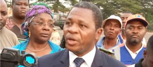 Le Ministe de l'Administration Territoriale Paul Atanag Nji (c) Darren Lambo Ebelle