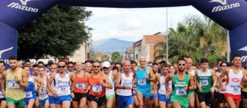 Maratona di Riposto partenza partecipanti
