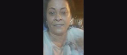 Mulher gravou vídeo logo após atropelar o homem. (Arquivo Pessoal/Redes Sociais)