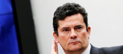 Serrgio Moro não se pronuncia sobre o caso envolvendo o nome de Flávio Bolsonaro. (Arquivo Blasting News)
