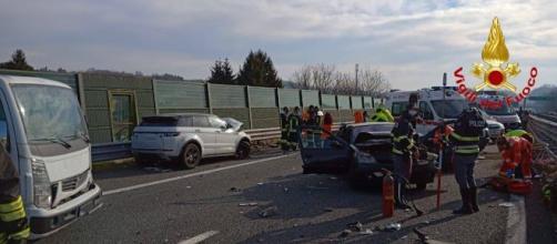 Sicilia, grave incidente stradale: muore 75enne, ferito il figlio.