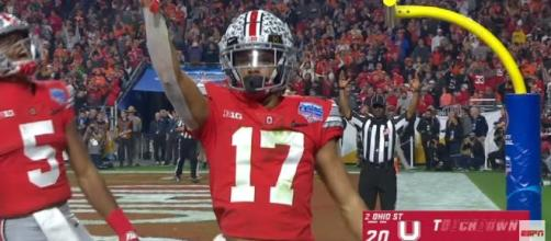 Image credit:ESPN/Youtube screenshot. 'Next year everybody's in trouble' - Buckeyes players reacts on terrible refereeing