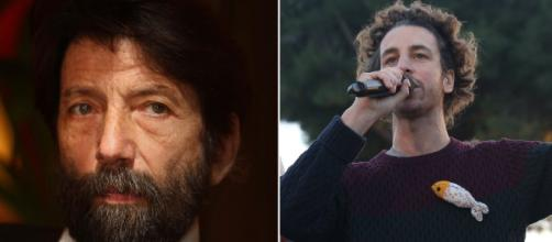 Massimo Cacciari e Mattia Santori