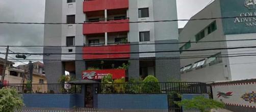 Elevador cai e deixa 4 mortos em Santos (Reprodução/Google Street View)