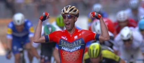 Vincenzo Nibali, la vittoria alla Milano Sanremo