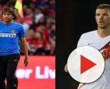 Inter, Conte furioso con Dzeko