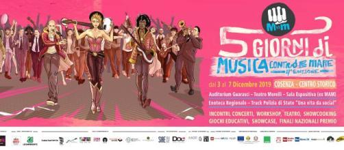"""A Cosenza la """"5 Giorni di Musica contro le mafie"""""""
