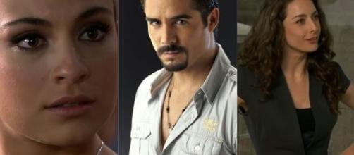 Ana Paula, Gustavo e Cynthia fizeram parte de 'A Que Não Podia Amar'. (Arquivo Blasting News)