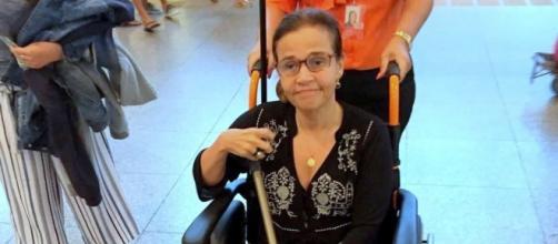Cláudia Rodrigues sofre com doença degenerativa descoberta em 2000. (Reprodução)
