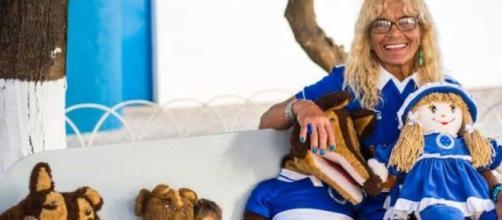 Torcedora símbolo do Cruzeiro foi agredida por atleticanos. (Arquivo Blasting News)