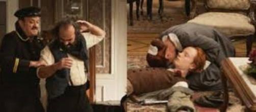 Una vita, puntata dell'8 dicembre: Javier spara a Raul e viene arrestato.