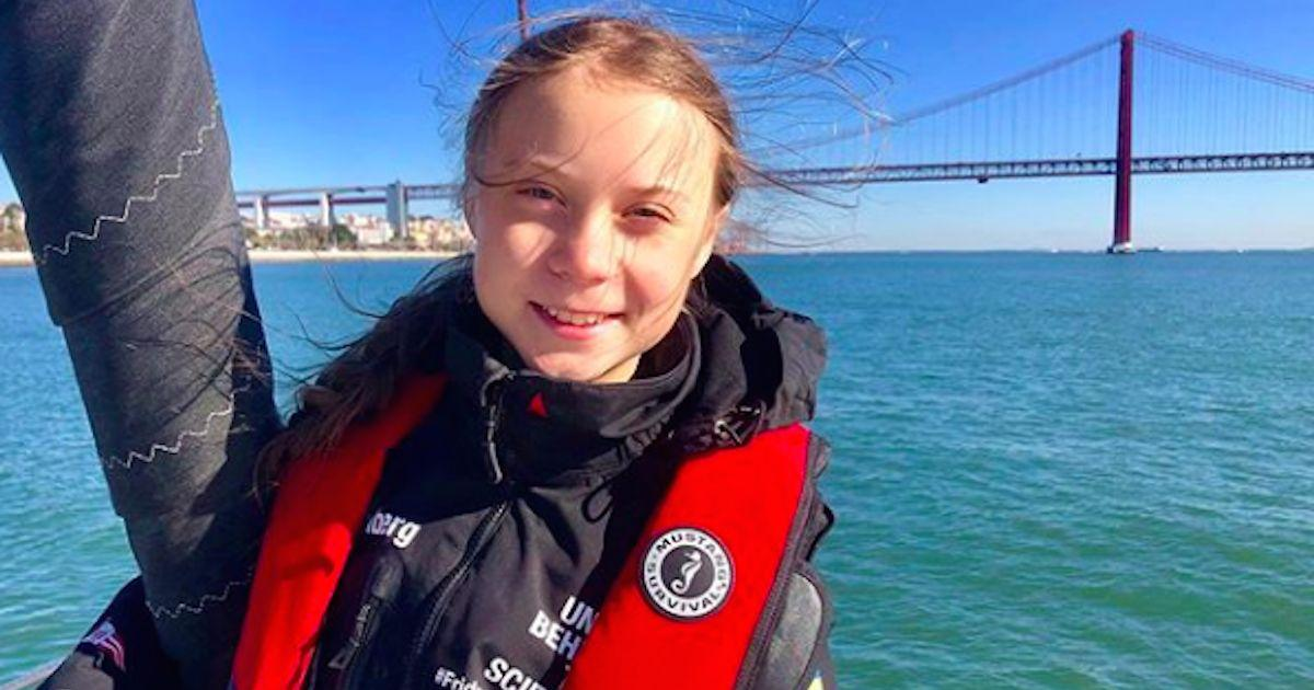 Greta Thunberg arrived in Lisbon for COP25 after crossing ...