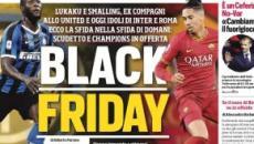 Inter-Roma, accuse di razzismo al Corriere dello Sport per il titolo 'Black Friday'