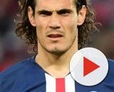 Edinson Cavani, punta del Paris Saint Germain.