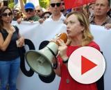 Meloni: 'Nessuna scusa al sindaco di Bibbiano', vogliamo la verità.