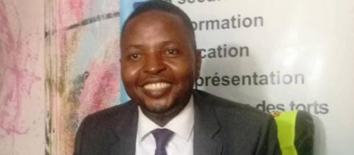 Delor Mangellan Kamseu Kamgain Président exécutif de la LCC (c) Odile Pahai