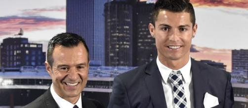 Jorge Mendes e Cristiano Ronaldo