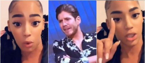 Les Princes de l'Amour 7 : Furieuse contre Seby Daddy, Sephora le clashe violemment et lui demande de se taire. @Instagram : Sephora.