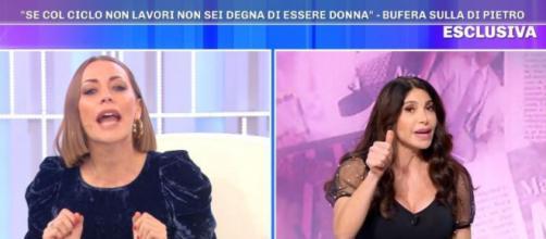 Pomeriggio 5, Karina Cascella attacca Carmen Di Pietro sull'endometriosi.