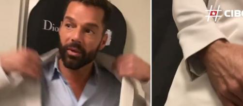 """Ricky Martin graba un """"story"""" que vuelve locos a sus seguidores"""