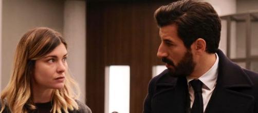 Vittoria Puccini e Francesco Scianna ne 'Il Processo': la seconda puntata è disponibile in streaming su Mediaset Play