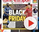 Lukaku e Chrs foram capa de uma manchete racista na Itália. (Arquivo Blasting News)
