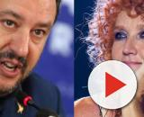 Matteo Salvini e Fiorella Mannoia