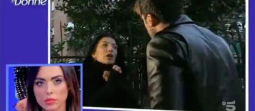 Uomini e Donne, Giulio discute con Giovanna: 'Tu sei pazza'