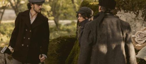 Il Segreto, trame Spagna: Matias impedisce a Damian ed Alicia di rapire Adolfo e Tomas