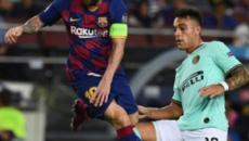Inter-Barcellona, probabili formazioni: Martinez sfida Messi
