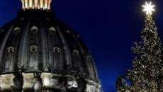 Inaugurados el belén y el árbol de Navidad en El Vaticano