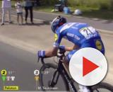 Julian Alaphilippe all'attacco al Tour de France